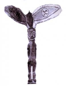 Illustration: pressentiment de l'ange - Afrique