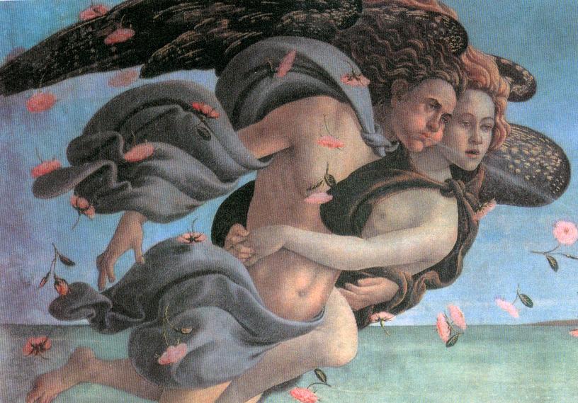Illustration: pressentiment de l'ange